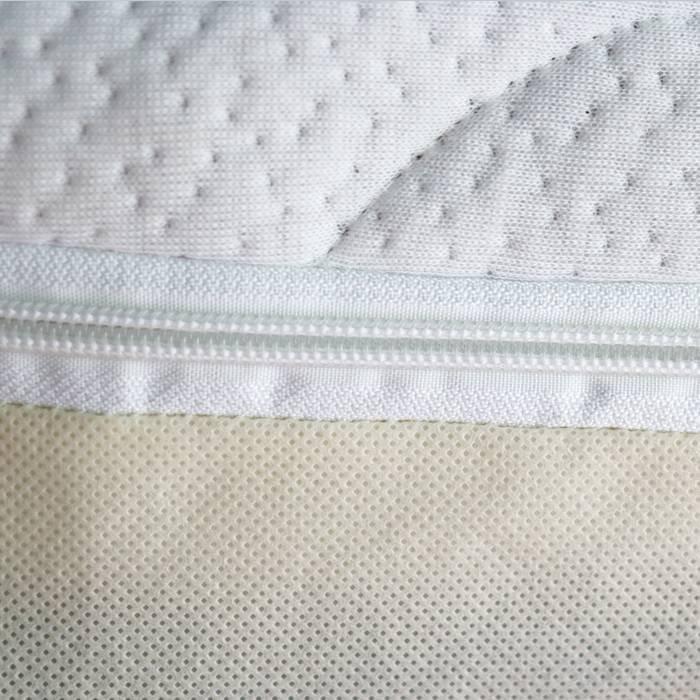 Cobrir colchão cabido confortável e macio, protetor de tamanho grande com Zipper