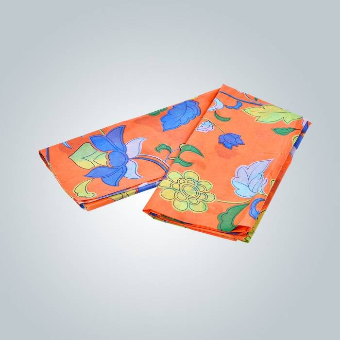 Colorful  printed nonwoven fabric  we can printing as your requiry