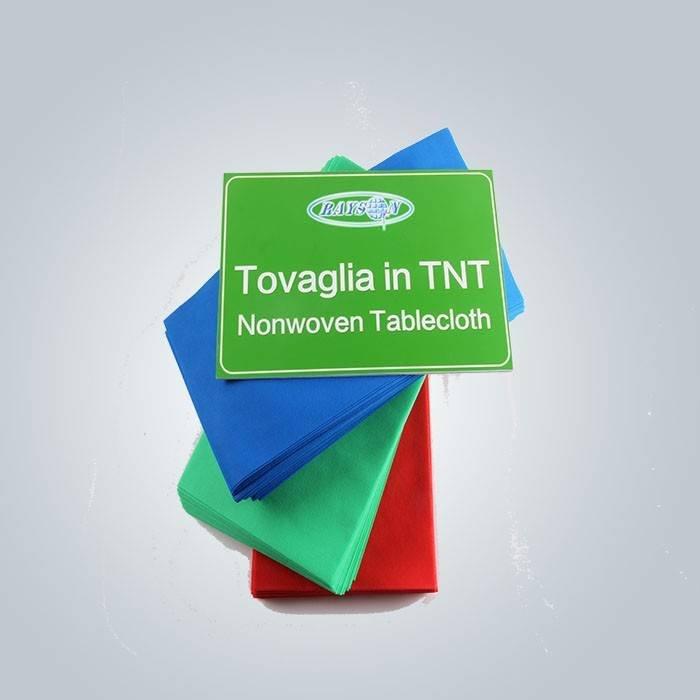 nappe Tovaglia en TNT non tissé une preuve de l'eau