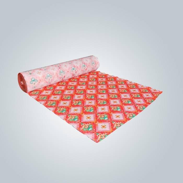 70gr PP spunbond drukowane włóknina tkaniny do materaca