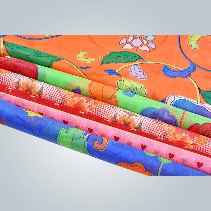 wszelkiego rodzaju, wydrukowane polipropylenu Włóknina tkaniny używane w pokrowiec materaca