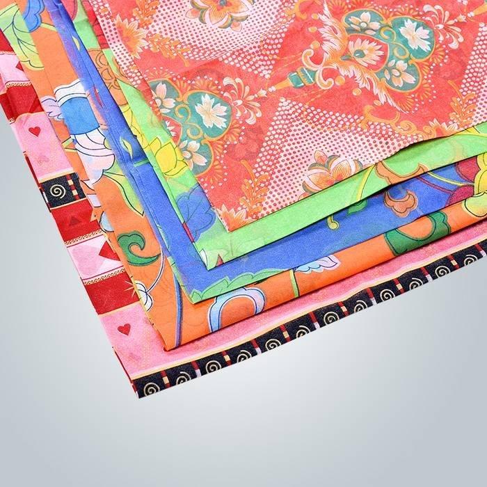 SGS certificado PP no tejido impreso mantel desechable