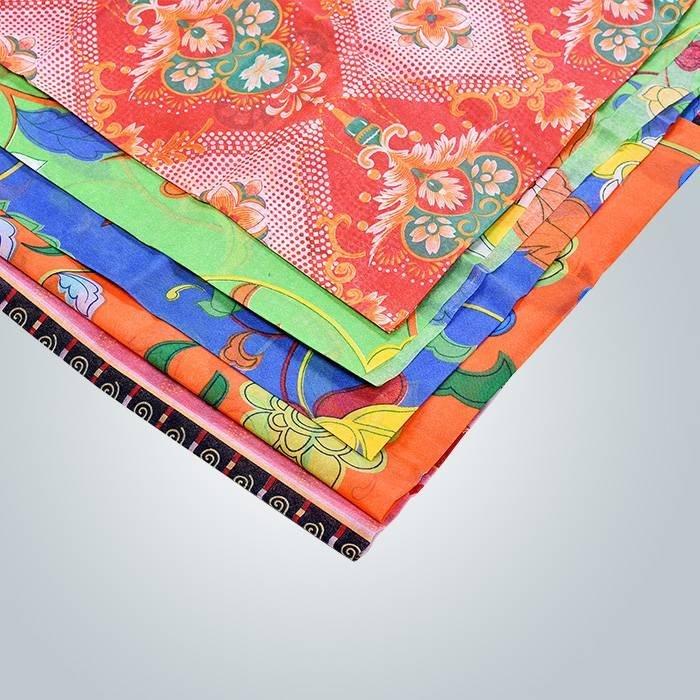 Impresión colorida no tejida para material de tapicería de muebles