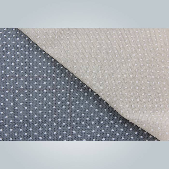 Excellent strength PVC dotted non slip fabric in spunbond non woven