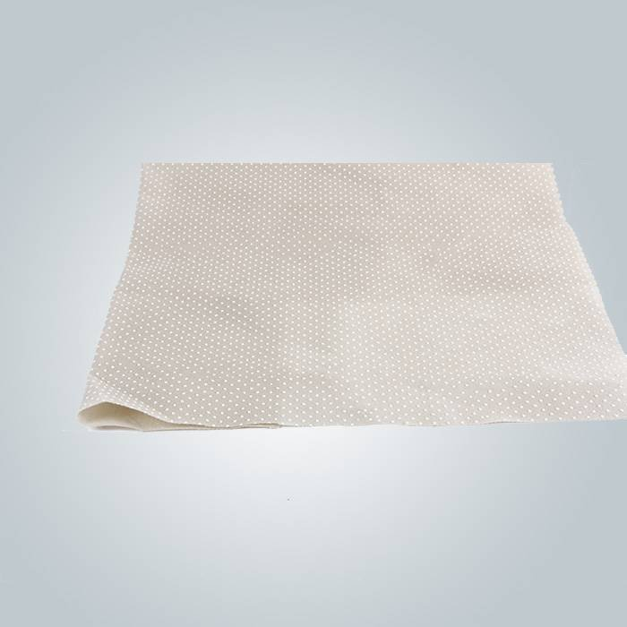 Pvc dot anti slip nonwoven fabric is used to producing mattress