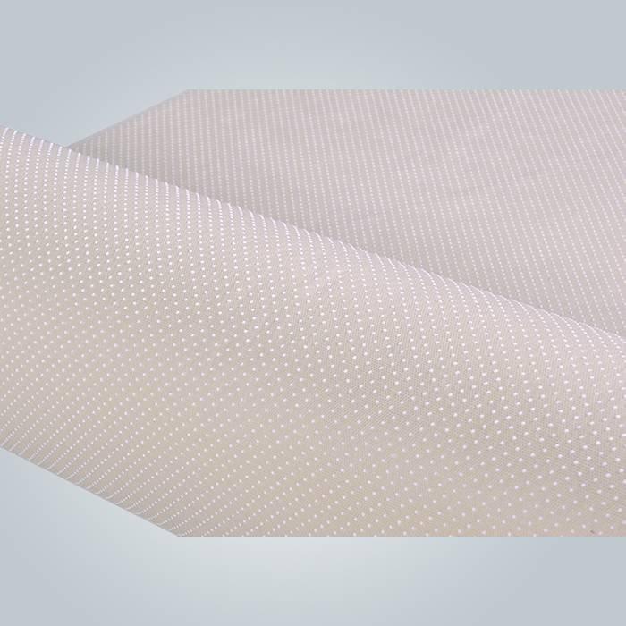 매트리스 백업 spunbond 미끄럼 비 짠 직물 PVC 코팅