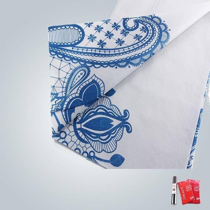 40 gramos y 60 gramos impresión no tejidos utilizados en ropa de la tabla y colchón