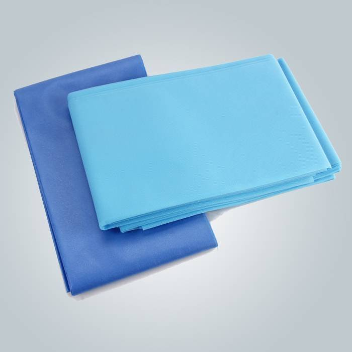 Wholesale Disposable Blue Fitted Bed Sheets For Massage