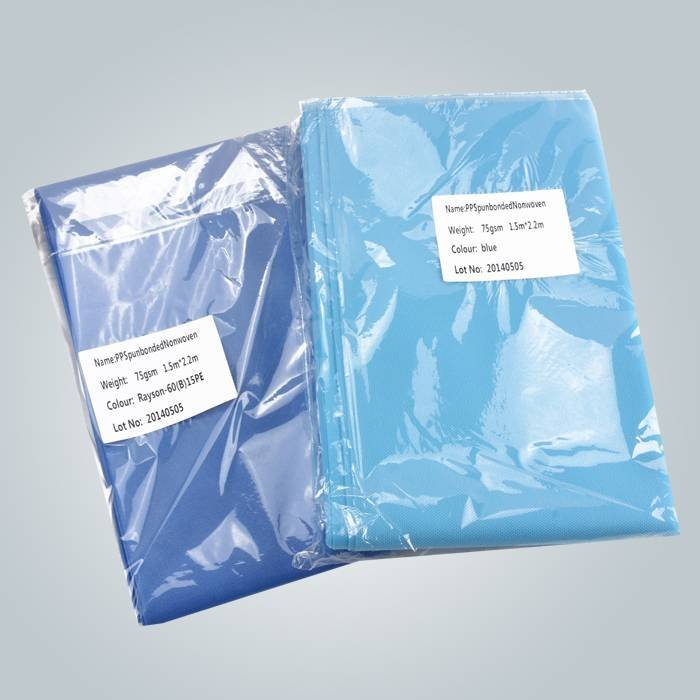 Hospital Used Non-woven Disposable Bed Cover With Individual Packing