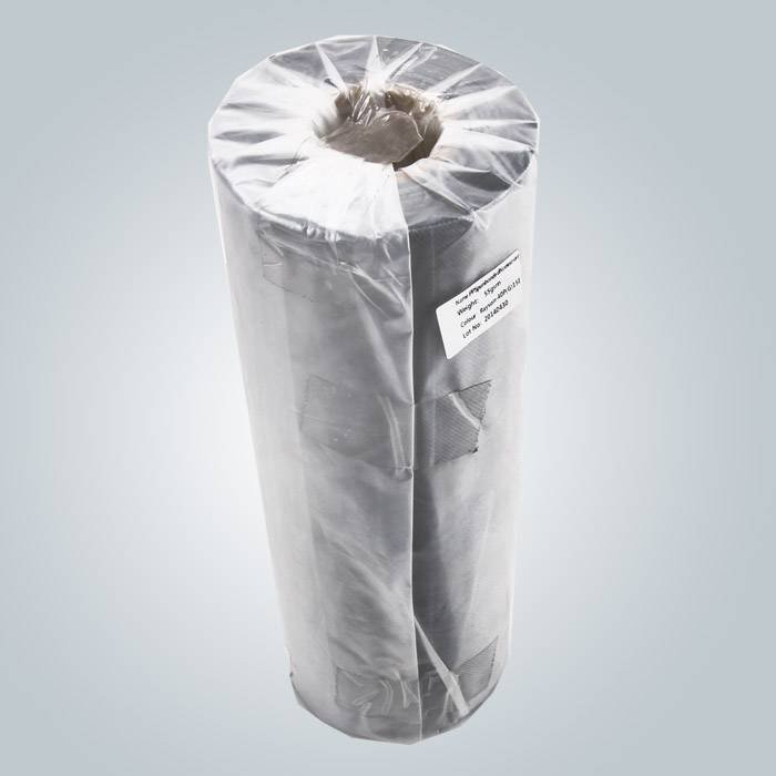 PP non woven fabric packed in plastic bag