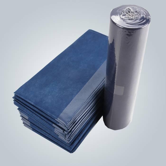 Drap stratifié de polypropylène et de polyéthylène de contrôle fluide pour hygiénique