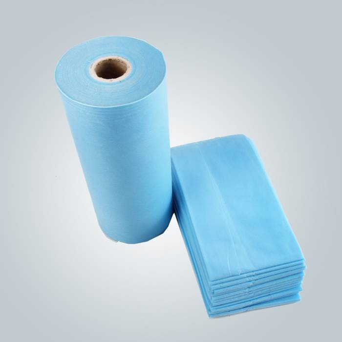 Soft And Comfortable Disposable Spunbond Nonwoven Material Bedsheet For Spa