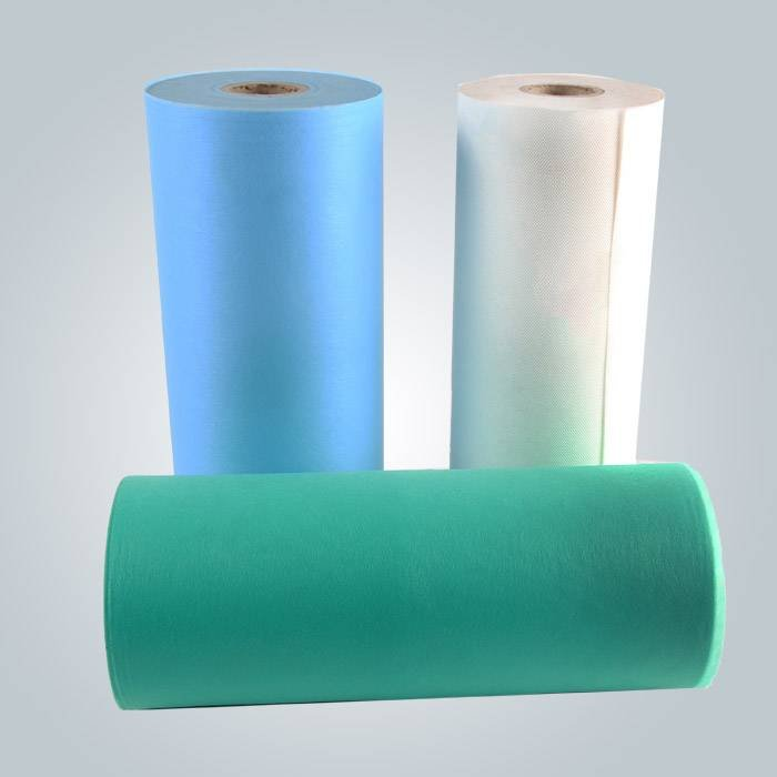 Hot Product ODM / OEM Patient Bed Nonwoven Bedsheet In Different Sizes