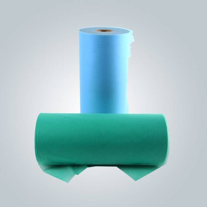 Blue spunbond non woven fabric