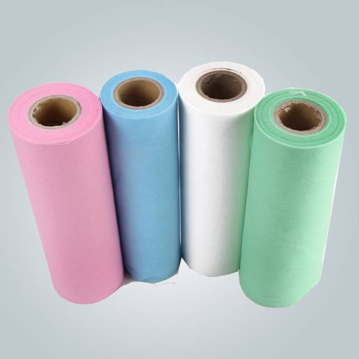80cm de largura Antibacterial Pre-Cut Roll Diposable Nonwoven Bedsheet para o hospital