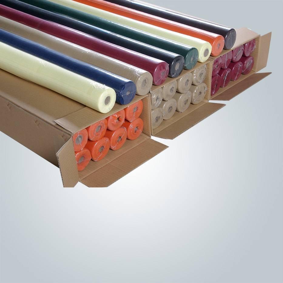 European standard TNT tablecloth roll non woven cloth