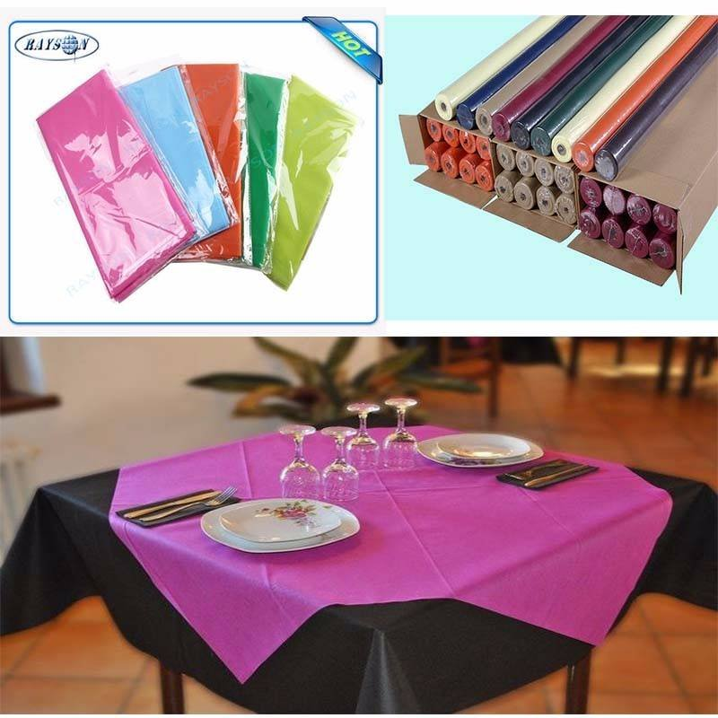 Slices / Rolls Packed Non Woven Polypropylene Tablecloth