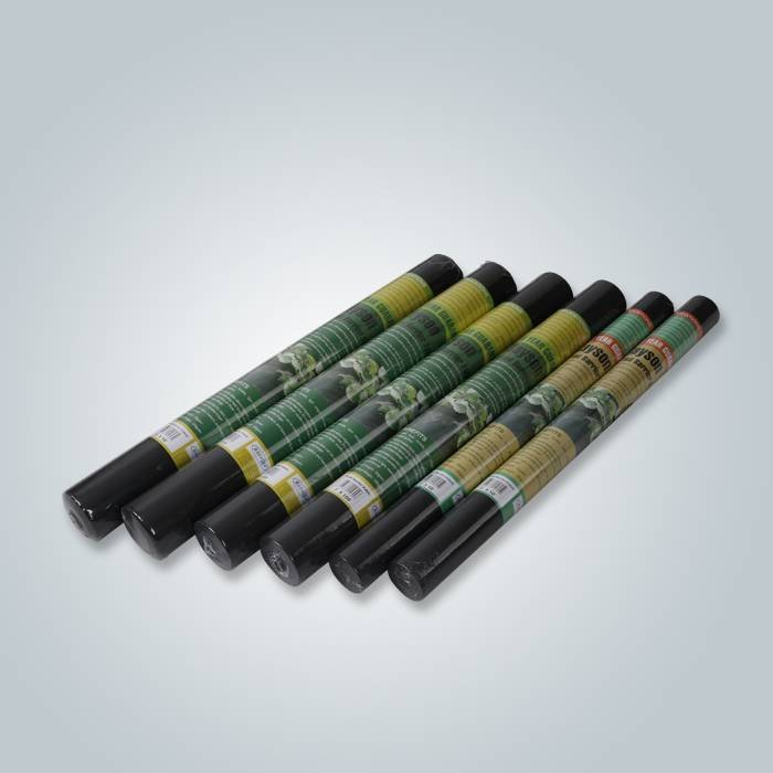 Black Color Anti-UV Frost protection Insect Barrier Row Cover For Home Garden
