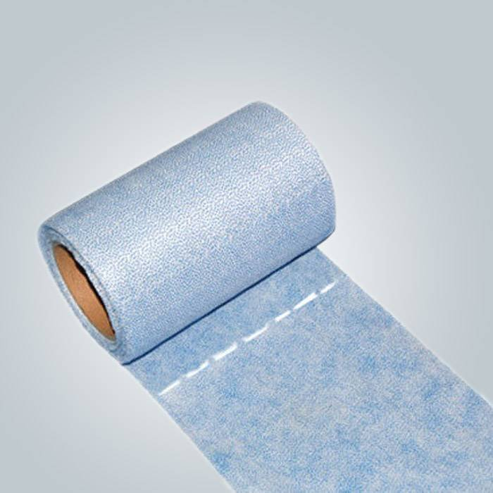 Spunbond Nonwoven Waxing Bed Sheet Roll With Perforation Line For Easy Tearing
