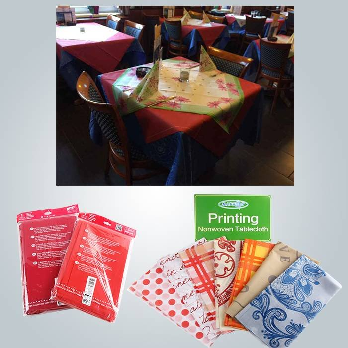 Party fashion disposable PP nonwoven table cover