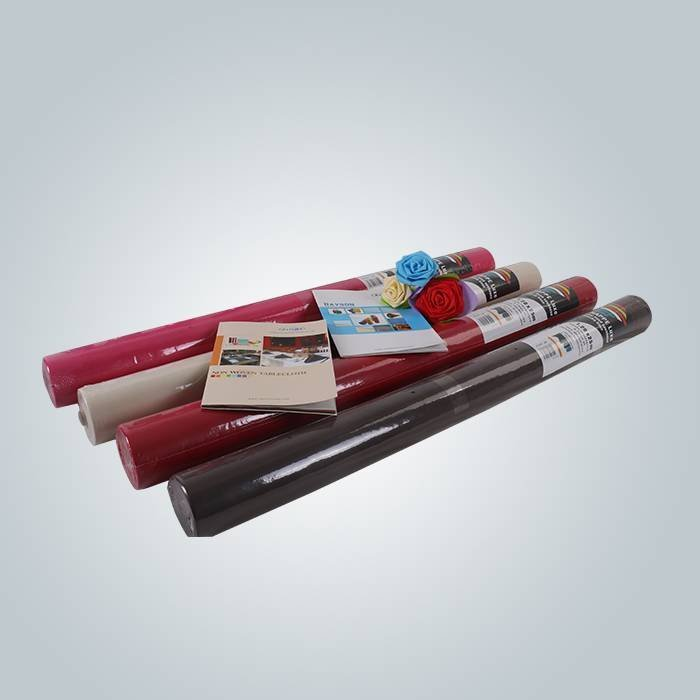 Direct factory spunbond PP non woven TNT tablecloth roll