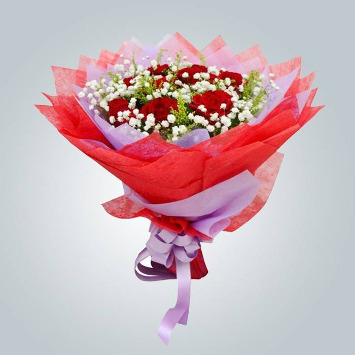 Colorful Non Woven PP Flower Wrappers