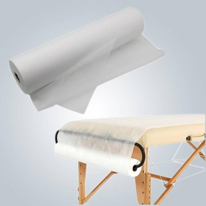 Patient Disposable bedsheet Avoid Cross Contamaination 80cm Wide