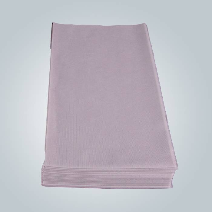 Nursing Disposable Drape For Adult Hospital Bed In Grey Color