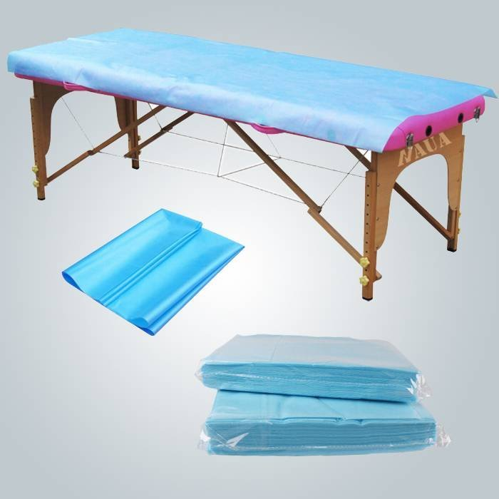 Antibacterial Waterproof Bedsheet PP PE Laminated Disposable Couch Cover