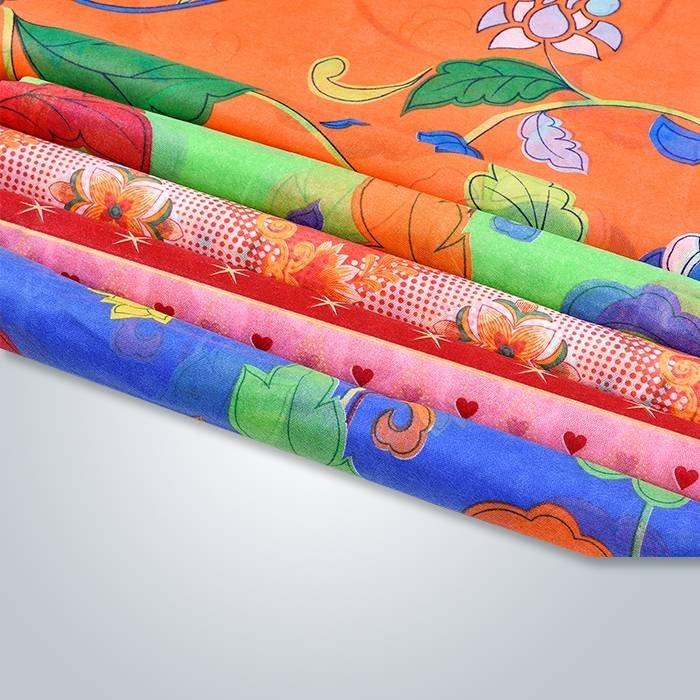 Tipo de suministro a pedido impreso no tejido para uso de colchón