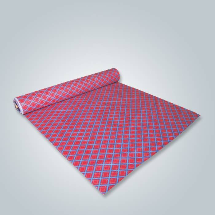 Foshan Factory imprimió técnicas no tejidas de la tela para el uso de los muebles