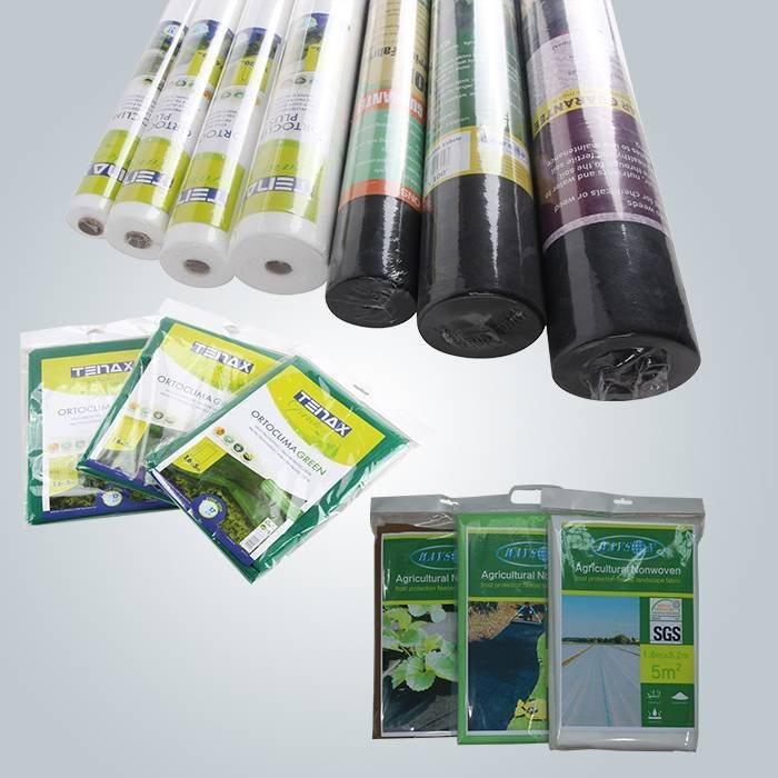 Non woven landscape fabric piece pack