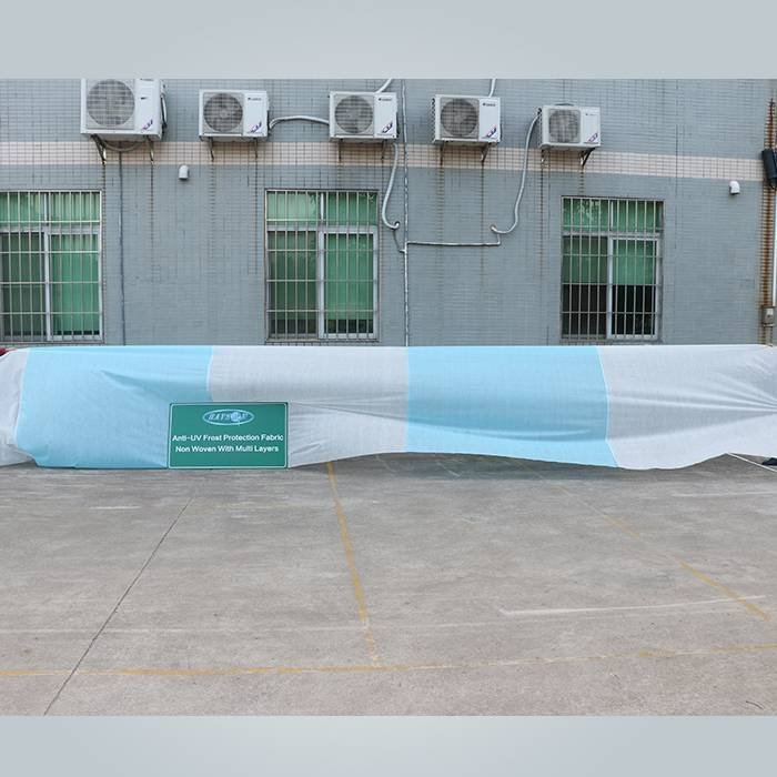 Breathable spunbond anti frost fleece non woven plant cover