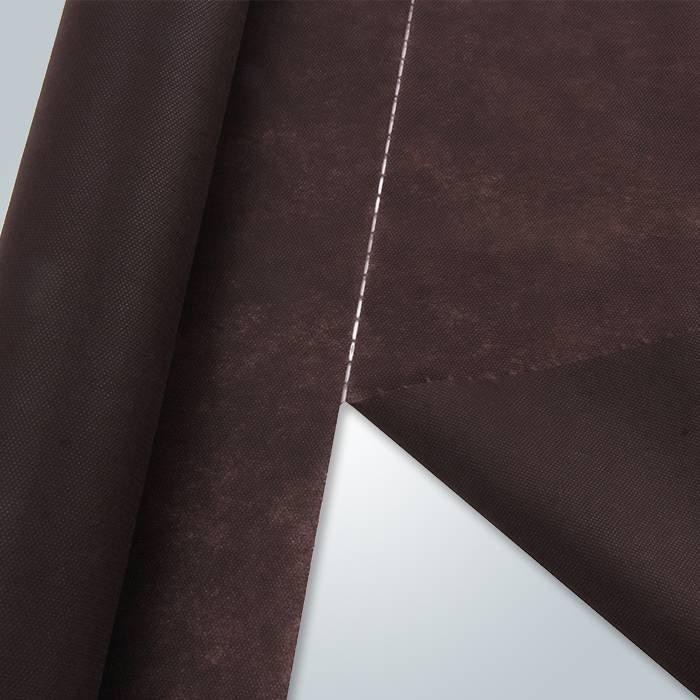 Matrerial cru polipropileno perfurado tecido não tecido para móveis