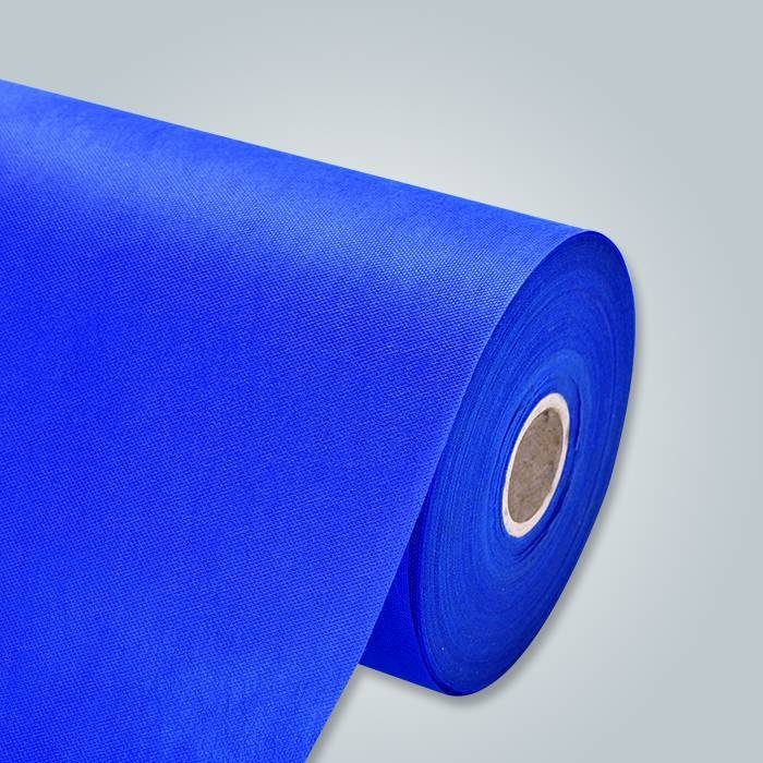 Blue pp non woven fabric for disposable bedsheet