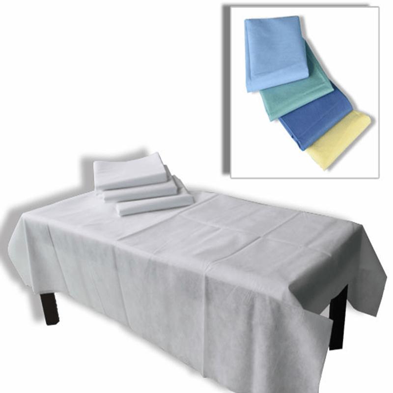 Drap de lit médical non tissé hygiénique et imperméable à l'eau