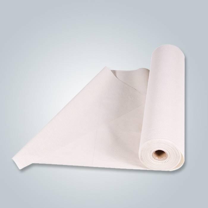Tessuto antiscivolo non tessuto con puntini in PVC per fondo divano