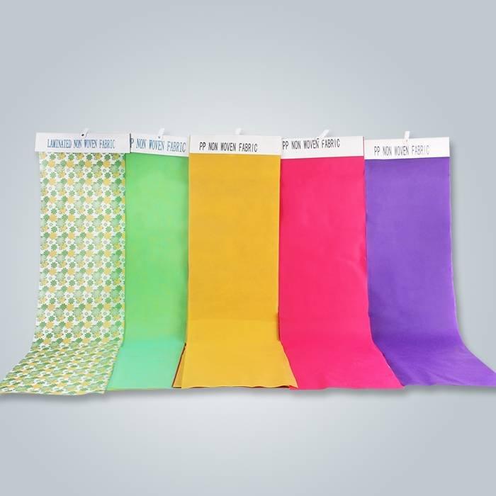Alışveriş çantaları için özel baskılı nonwoven kumaşlar