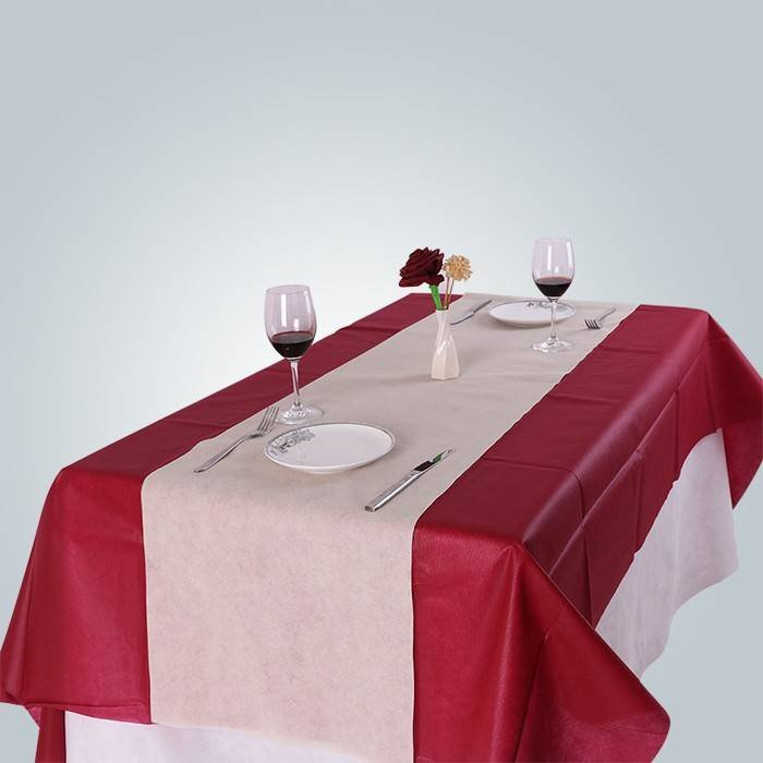 Sanitary Non Woven Table Cloth with Lamination