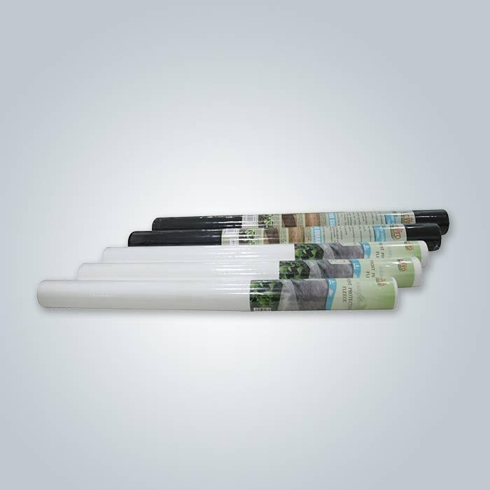 17 غرام الأبيض حماية الصقيع الصوف سبونبوند غير المنسوجة
