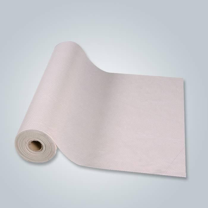 Fire retardant non slip PP non woven fabric with PVC dot