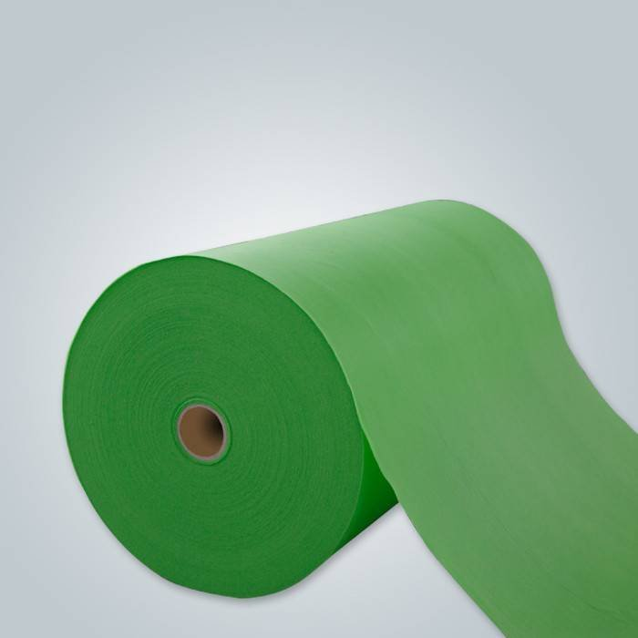 green color pp non woven fabric
