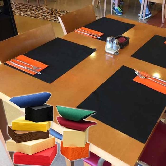 Fancy design non woven placemat 30cm x 40cm