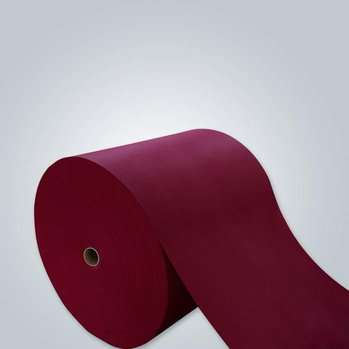 purple pp non woven fabric