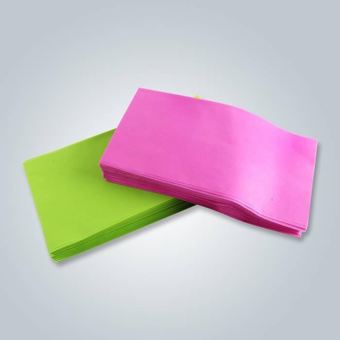 Acessível 100% polipropileno não tecido Spunbond processados tecido têxtil