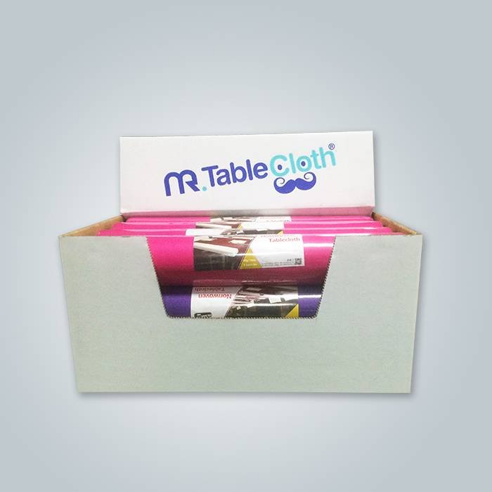 table cloth pack in white carton