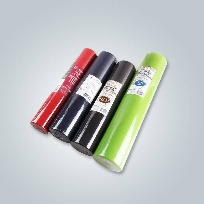 Pre cut PP non woven fabric roll for  tablecloth to French market