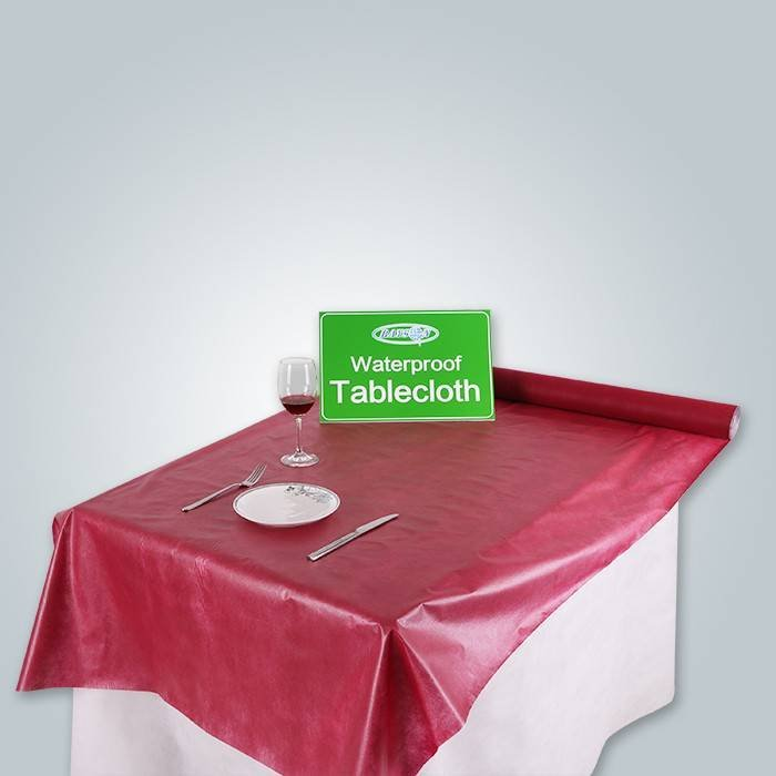 PE Film Coated Nonwoven Tablecloth