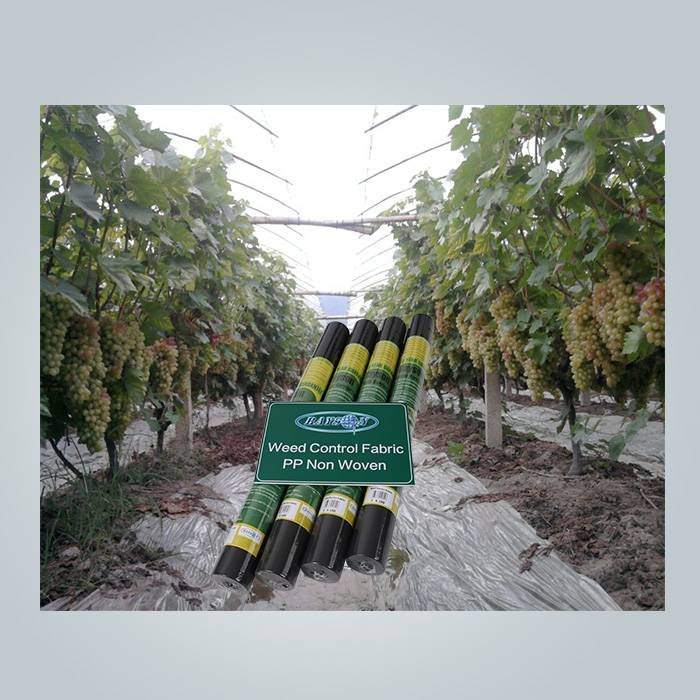 Roll pack weed control fabric