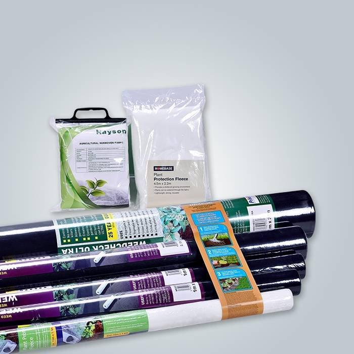 Biodegradável 100% PP Matéria-prima Spunbond Nonwoven 50Gram